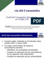 Perfil Del Consumidor Salvadoreño en El Siglo XXI