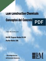 Conceptos Del Concreto