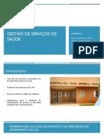 Gestão de Serviços de Saúde Slides