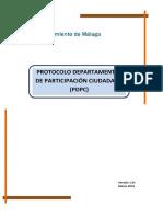 Protocolo Departamental de  Participación Ciudadana v1.01