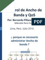 Control de Ancho de Banda y QoS