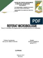 Referat-microbiologie
