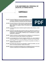 Reglamento de Uniformes Del Personal de Oficiales de La Fuerza Naval