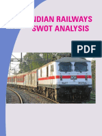 Indian Railways SWOT