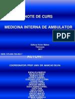 Medicina Interna de Ambulator Dr.ciorica