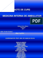 Medicina Interna de Ambulator Dr.ciorica
