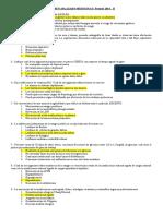 Examen Aplazado Medicina II Periodo 2014 II