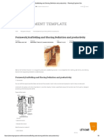 Formwork,Scaffolding and Shoring Defini... Productivity – Planning Engineer Est