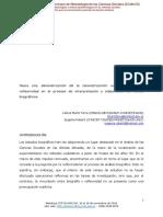 MunizTerra. Reflexividad en Texto Biográfico