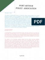 0110 Port Arthur Police Association2