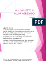 Iva – Impuesto Al Valor Agregado