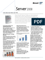 SAP SQL 2008 Datasheet-V1