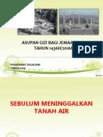 Asupan Gizi Jamaah Haji