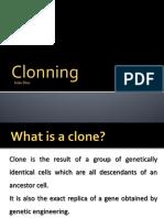 clonning
