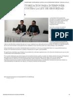 Solicitarán Autorización Para Interponer Controversia Contra La Ley de Seguridad Interior - El Monitor de Parral _ Noticias de Parral y La Región
