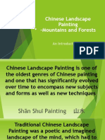 1. An Introduction to Chinese landscape painting course