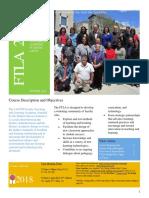 FTLA 2018 Syllabus Revised FINAL