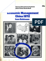 1972 - JOAN ROBINSON - Economic Management in China