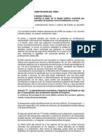 Analisis de La Constitucion Del Peru