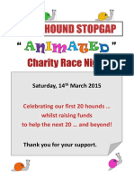 brochure - sighthound stopgap event program