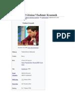 The Force of Gênius Vladimir Kramnik