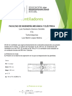 Ventiladores- Turbomáquinas LuisZamora