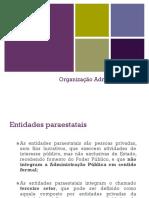 Organização Administrativa- Aula 3