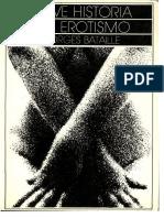 Breve Historia Del Erotismo