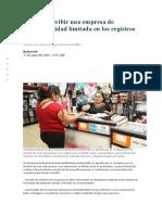 Cómo Inscribir Una Empresa de Responsabilidad Limitada en Los Registros Públicos