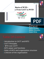 GATT to WTO Pesentation