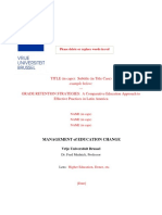 Template for Modern Education Systems Paper