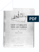1959 - Kemp and Young - Ship Stability Notes and Example