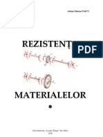 Curs - Rezistenta Materialelor Partea 1