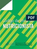 Codigo de Etica do Nutricionista