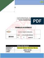 Ta- Política y Comercio Internacional -Salcedo Bellota Gabriela Marina