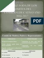 Matriz Foda de Los Comites Del Consejo Educativo