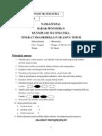 Soal 2013 - Penyisihan SMA