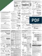 E3X-HD Instruction Sheet