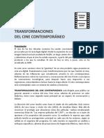 Curso-transformaciones Del Cine Contemporáneo