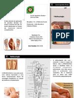 Reflexologia folheto