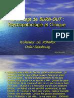 Le Concept de Burn-Out