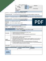 KSSM English Lesson Plan for Form 2 (Sample)