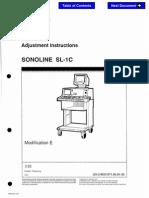 Siemens SONOLINE SL-1C