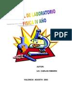 Manual de laboratorio Física cuarto año