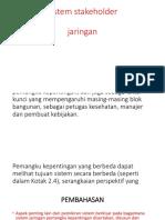 Sistem Stakeholder Fahmi
