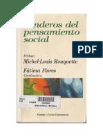 Flores, Fátima (2002)Senderos Del Pensamiento Social