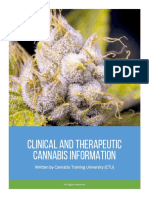 Clinical and Therapeutic Cannabis Information