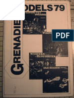 Grenadier Models Catalogue 1979 (Partial)