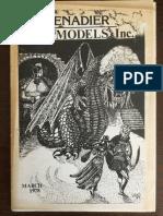 Grenadier Models Catalogue 1978