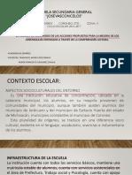 Presentación de Resultados de Actividades Academia Español Sec Jv